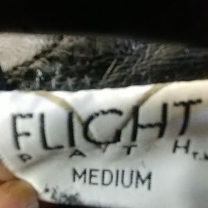 Flight Path Jackets & Coats - Vintage 80's Flight Path leather jacket Sz M